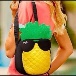 New with tags pink pineapple lunchbox cooler bag